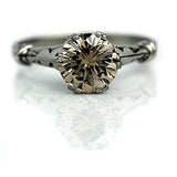 Mid-Century 1.89 Carat GIA Fancy Brown Diamond Ring