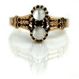 1.50 Carat Vintage Moonstone Engagement Ring