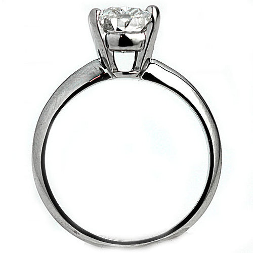 1.53 Carat Oval Diamond Solitaire Engagement Ring