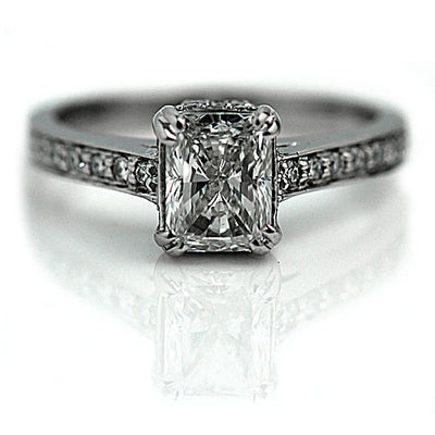 1.20 ct Radiant Cut Diamond Engagement Ring