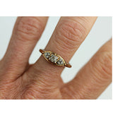 .25 Carat Vintage Diamond Rose Gold Ring