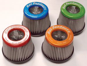 "HP 2 1/2"" Mettalic Color Air Filter"