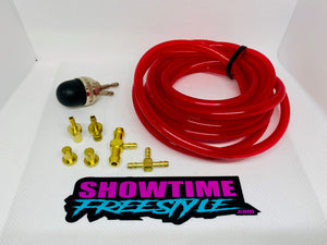 Mikuni Bulb Primer Kit Dual (Choice Of Line Color)