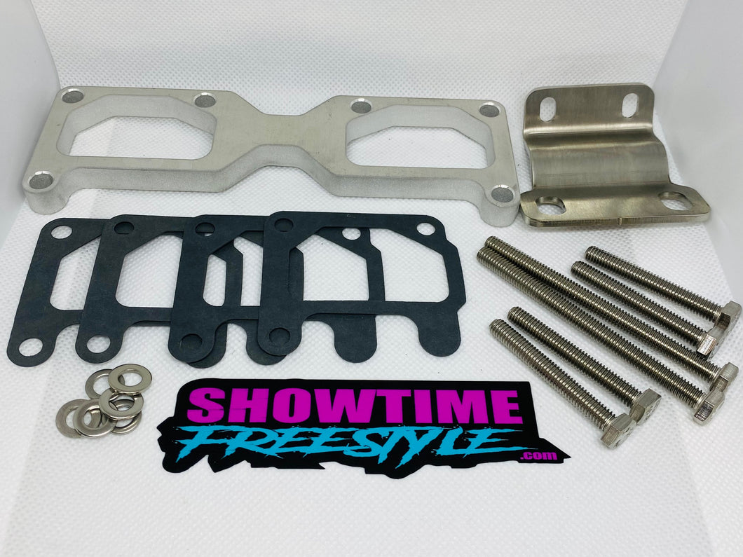 Kawasaki 440/550 Intake Manifold Spacer Kit W/Bracket