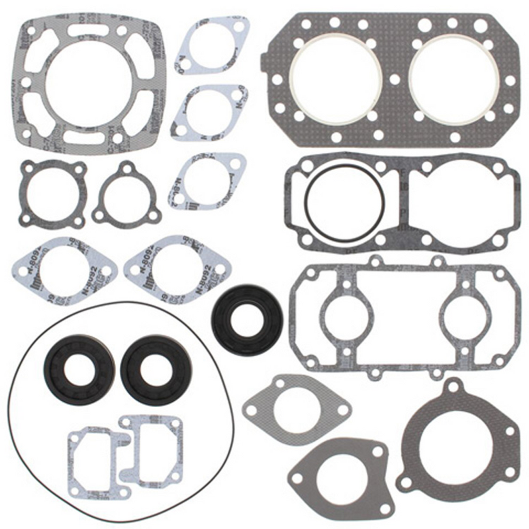 Kawasaki JS 550 82-90 Complete Gasket Kit With Oil Seals