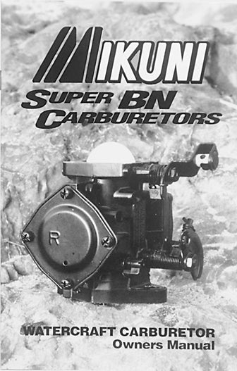 Mikuni Carburetor Manual
