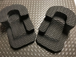 Large Freestyle Heel Holds Heel Locks (Pair)