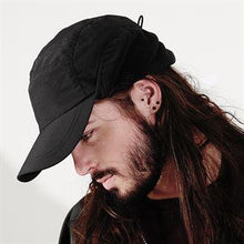 Load image into Gallery viewer, Rural Apparel Mountain Style Outdoor Cap Black - BrandClearance