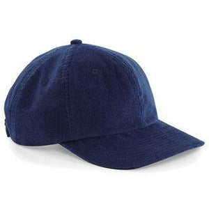 STREET Apparel Heritage Cord Vintage Cap-Cap-stREET Apparel-Oxford Navy-BrandClearance
