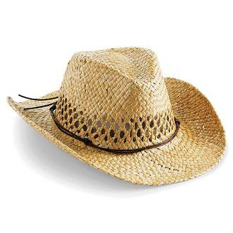 RETRO Apparel Vintage Straw Festival Cowboy Hat - BrandClearance