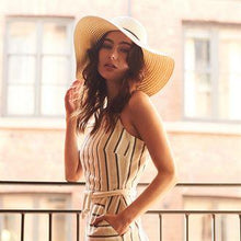 Load image into Gallery viewer, RETRO Apparel Ladies Marbella Brimmed Sun Hat - BrandClearance