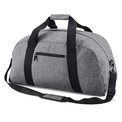 BagBase Classic Holdall Travel Bag BG022 Grey-Custom Teamwear