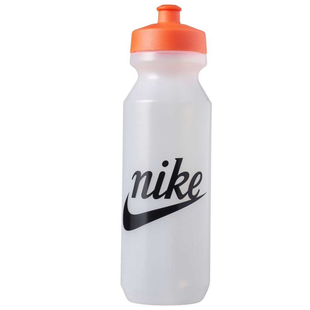 Nike Big Mouth Water Bottle 2.0 32 Ounce NK409 Clear Orange-Custom Teamwear