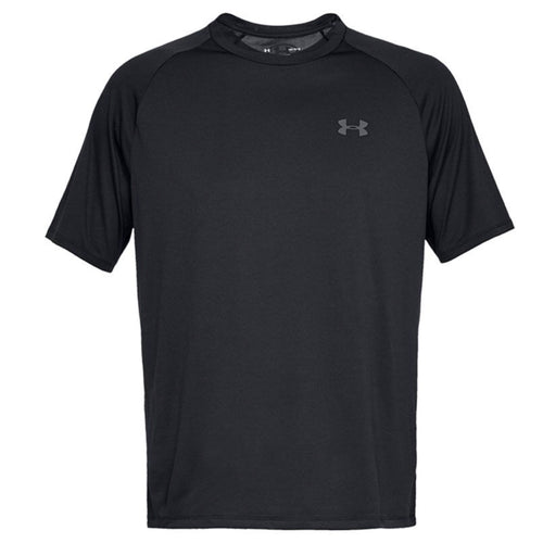 Under Armour Technical Short Sleeve Gym T-Shirt UA005 Black-Custom Teamwear