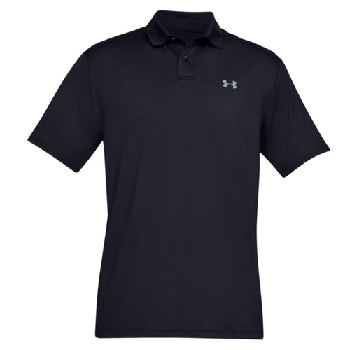 Under Armour Technical Performance Polo Shirt UA006 Black-Custom Teamwear