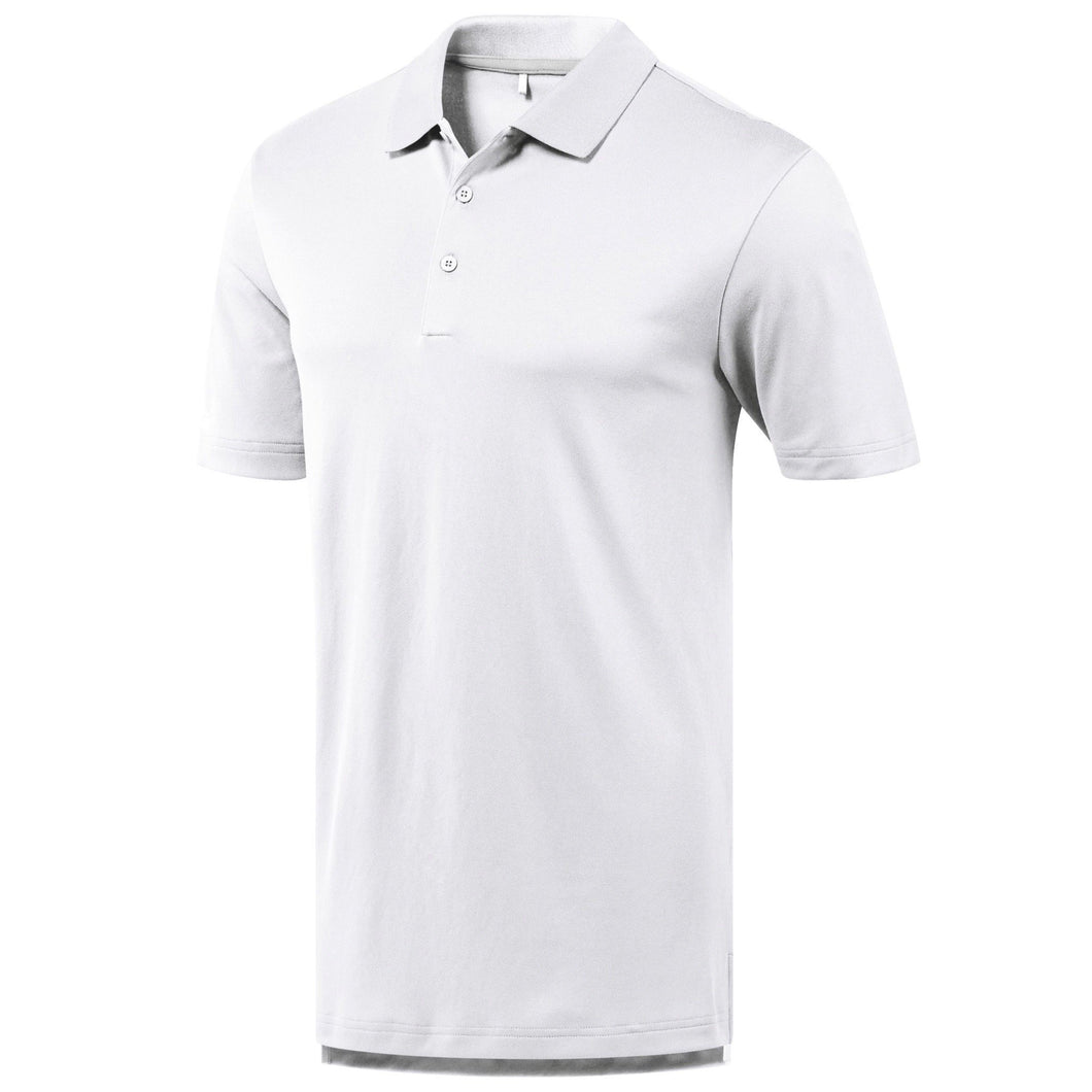 Adidas Performance Technical Golf Polo Shirt AD036 White-Custom Teamwear