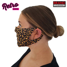 Load image into Gallery viewer, Retro OldsKool Leopard Print Face Cover (Pack of 50)-Custom Teamwear