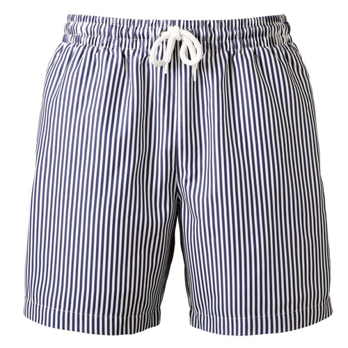 Wombat Swim Shorts Mens Fashion WB900 Navy White-Custom Teamwear