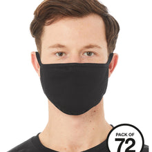 Load image into Gallery viewer, Bella & Canvas Re-useable Face Mask (Pack of 72) BE951 Add Your Logo-Custom Teamwear