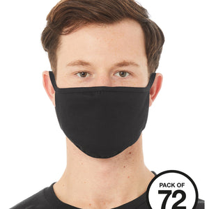 Bella & Canvas Re-useable Face Mask (Pack of 72) BE951 Add Your Logo-Custom Teamwear