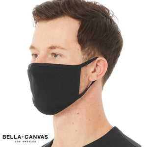 Bella & Canvas 2 Ply Reuseable Face Mask (Pack of 72) BE951-Custom Teamwear