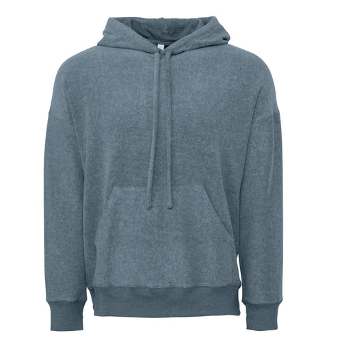 Bella & Canvas Unisex Sueded Fleece Pullover Hoody BE130 Slate