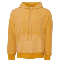 Load image into Gallery viewer, Bella & Canvas Unisex Sueded Fleece Pullover Hoody BE130 Mustard