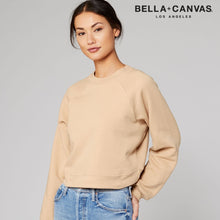 Load image into Gallery viewer, Bella & Canvas Raglan Sleeve Pullover Sweater BE134 Sand Dune-Custom Teamwear