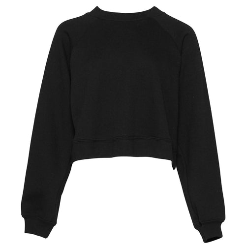 Bella & Canvas Raglan Sleeve Pullover Sweater BE134 Black