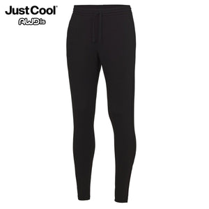 AWDis Just Cool Tapered Cool Gym Jog Pants JC082 Black-Custom Teamwear