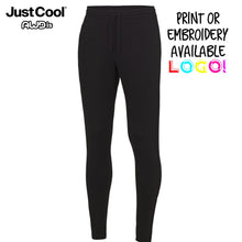 Load image into Gallery viewer, AWDis Just Cool Tapered Cool Gym Jog Pants JC082 Black-Custom Teamwear