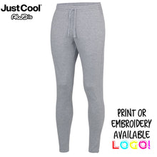 Load image into Gallery viewer, AWDis Just Cool Tapered Cool Gym Jog Pants JC082 Grey-Custom Teamwear