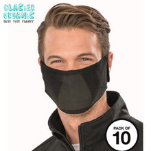 Load image into Gallery viewer, Result Organic Natural Yarn Anti Bac Face Mask (Pack of 10) Charcoal-Custom Teamwear
