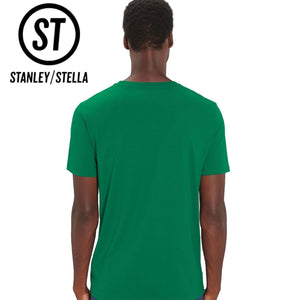 Stanley Stella Organic Cotton Unisex Iconic T-Shirt SX001 Heather Blue-Custom Teamwear
