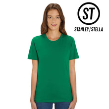 Load image into Gallery viewer, Stanley Stella Organic Cotton Unisex Iconic T-Shirt SX001 Carribean Blue