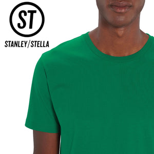 Stanley Stella Organic Cotton Unisex Iconic T-Shirt SX001 Denim Black-Custom Teamwear