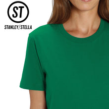 Load image into Gallery viewer, Stanley Stella Organic Cotton Unisex Iconic T-Shirt SX001 Heather Blue-Custom Teamwear