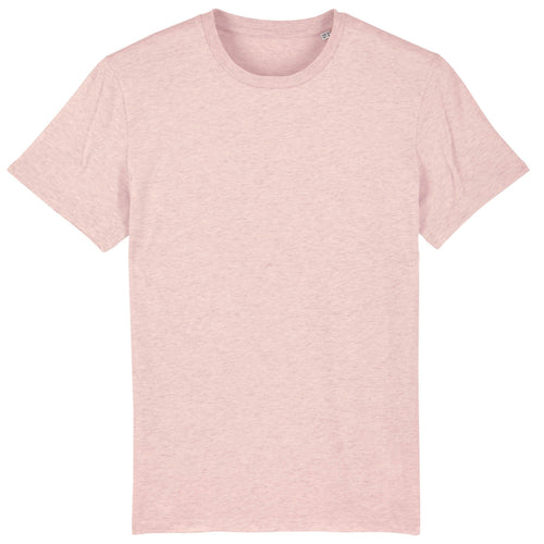 Stanley Stella Organic Cotton Unisex Iconic T-Shirt SX001 Heather Pink