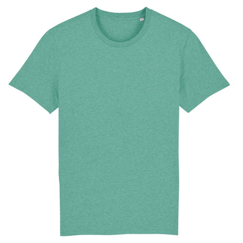 Stanley Stella Organic Cotton Unisex Iconic T-Shirt SX001 Mid Heather Green