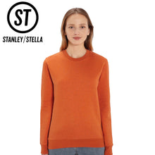 Load image into Gallery viewer, Stanley Stella Organic Iconic Unisex Crew Neck Sweater SX003 White