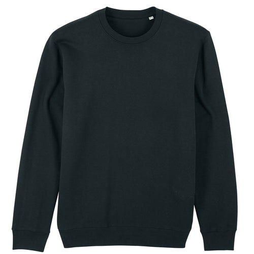 Stanley Stella Organic Iconic Unisex Crew Neck Sweater SX003 Black-Custom Teamwear