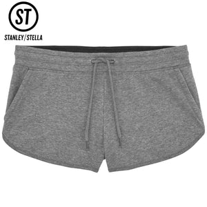 Stanley Stella Cuts Jog Sweat Shorts SX043 Grey-Custom Teamwear