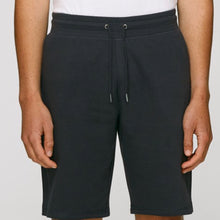 Load image into Gallery viewer, Stanley Stella Organic Ringspun Cotton Jog Shorts SX054 Black-Custom Teamwear