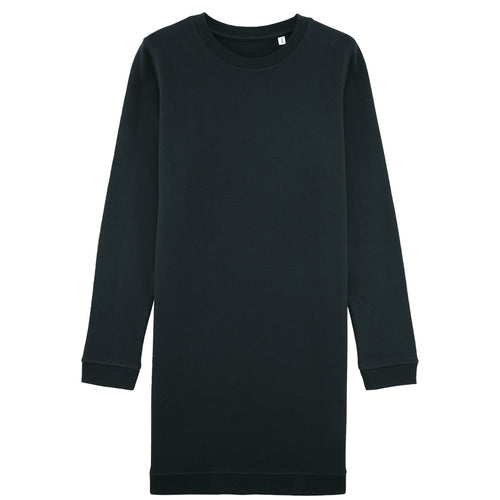 Stanley Stella Kicks Crew Neck Dress Sweater SX042 Black