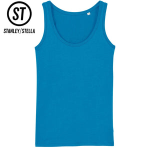Stanley Stella Organic Ladies Iconic Dreamer Vest Top SX013 Azzure Blue