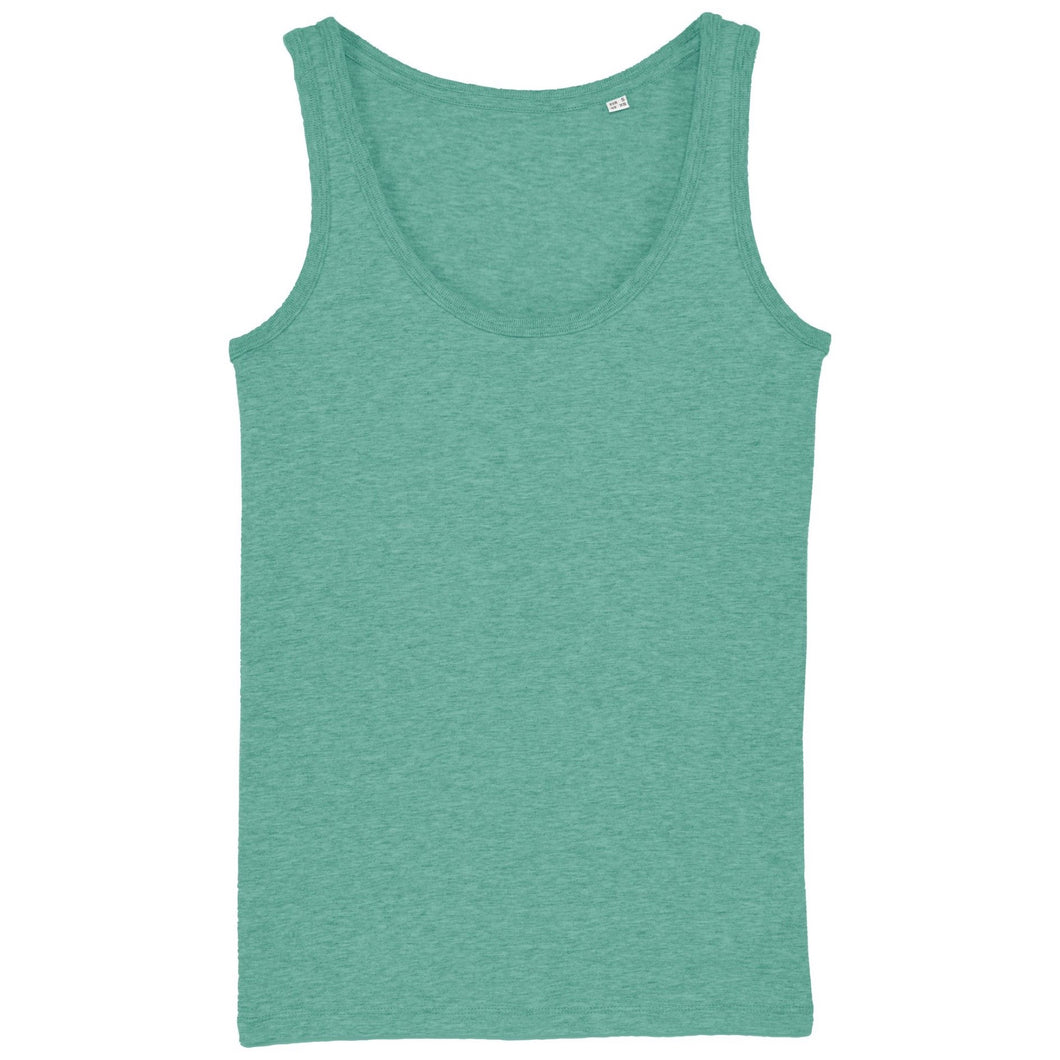 Stanley Stella Organic Ladies Dreamer Iconic Vest Top SX013 Heather Green