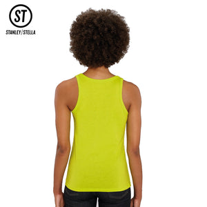 Stanley Stella Organic Ladies Dreamer Iconic Vest Top SX013 Black-Custom Teamwear