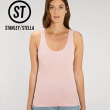 Load image into Gallery viewer, Stanley Stella Organic Ladies Dreamer Iconic Vest Top SX013 Black