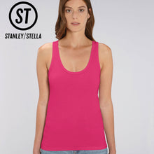 Load image into Gallery viewer, Stanley Stella Organic Ladies Dreamer Iconic Vest Top SX013 Raspberry Pink-Custom Teamwear