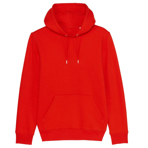 Stanley Stella Cruiser Organic Iconic Hoody SX005 Bright Red-Custom Teamwear